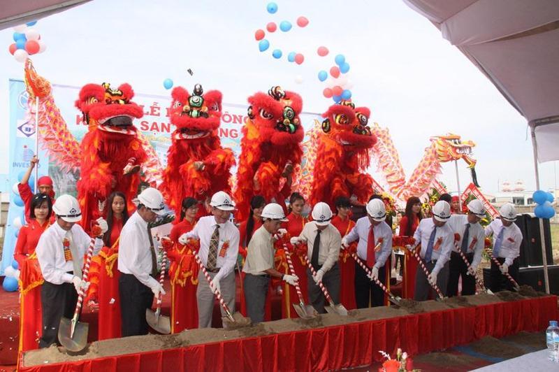 Tổ chức lễ khởi công - Động thổ